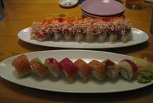 sushi / by Eleanor Taniguchi
