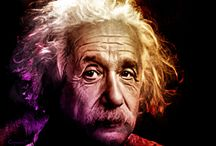 """E = MC ²  / 1905 - Albert Einstein published the Annus Mirabilis papers (from Latin annus mīrābilis, """"extraordinary year"""") in the Annalen der Physik scientific journal in 1905. These four articles contributed substantially to the foundation of modern physics and changed views on space, time, mass, and energy.  / by Micheal Capaldi"""