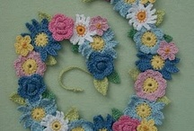 Crochet - Earth and Sky / FLOWERS, BUTTERFLIES, OWLS, STARS, BIRDS, SNOW FLAKES / by Brenda Tigano-Thomas Pacheco