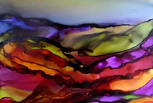 Alcohol Inks / by Jennifer LaVelle