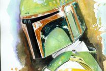 Star Wars / by Maggie Morrison