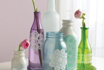 botellas decoradas / by Cynthia Kuri