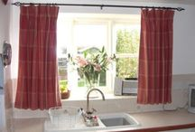 Kitchen Curtains / Kitchen Curtains, The kitchen is a very important room for any house wife , as she spend lot of time in preparing food meals for all the family in the kitchen, so dear woman, no doubt you want to spend your time in the kitchen in a beautiful and decorative place. Kitchen curtains are attractive and pretty accessories for your kitchen. / by kitchen designs 2014 - kitchen ideas 2014 .