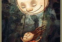 I Love You to the Moon. / by Pamela Neill