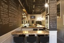 NUTTURNO RESTAURANT - GASTOWN, Vancouver B.C / When my old friend Bill from my hospitality days asked us to help him design and renovate his new restaurant for him and on a minimal budget we couldn't have been more excited to help him achieve his long time dream.  / by Andrea Rodman Interiors