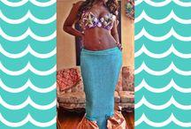 Halloween Custom Made Mermaid Costume !  / Halloween / Mermaid / by Yafresie Santos