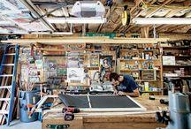 Workshop/Garages / by Pegasus Parts