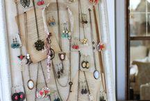 Jewelry Display Idea's / by Sherylita Mason