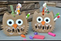 Cards and tags - owls / by Ann Harper