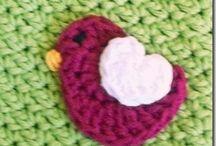 crochet-misc. hair accessories, pins, etc. / by Cheryl Keiper
