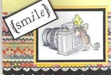 Cards House Mouse / by Donna Curtis