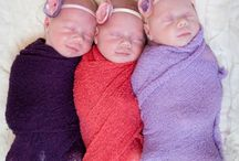 Make room for multiples :) / Twins triplets ....... and so on / by Emily Fulton