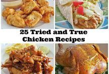 Chicken Recipes / by Nickie Woodall-Curry