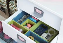 Organization! :-) / Great ideas for a more organized home! :-) / by Emy @ThoseLittleWonders