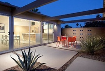 Palm Springs mid century modern / by Louise Matthews