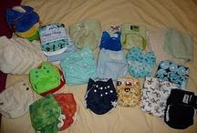 cloth diapers / by Amanda Marsman