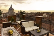 The Westin Europa & Regina, Venice / Situated on the Grand Canal, steps from the Piazza San Marco, this hotel delivers stunning views from terrace suites and canal-side dining. / by The Westin Europa & Regina, Venice