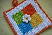 Crochet: Potholders and Hot Pads / by Polly Wickstrom