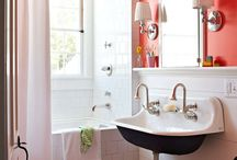 Decorating Ideas- Bathrooms / by Sara Brinker