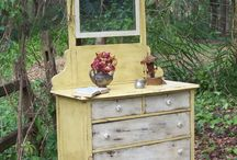 Yellow Furniture  / by Sarah Trop - FunCycled