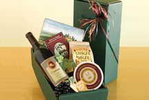 FIne Wines Gift Baskets / Choice of 18 different gift baskets with fine California Wine. / by Hanny's Gift Gallery