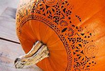 Pumpkin head / by I am Amazing!