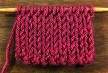 Knitting Stitchionary / by New Stitch A Day