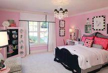 Girls Room Ideas / by Connie Herron