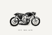 petrolheads: Motorbikes.Motorcycles, and Cars / When not making shirts it's what we do. Mostly Italian and British but have never said no to a ride if any sort. A true passion. / by Imperial Black