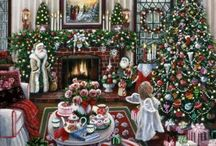 **Christmas** / Have yourself a merry little Christmas Let your heart be light Next year all our troubles will be Out of sight, So have yourself a merry little Christmas now.  / by Darlene Mayle Roberts