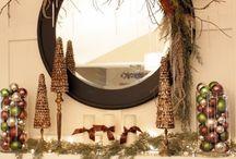 Fireplace mantle / by Sasha Wayas