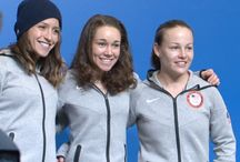 Women's Ski Jumping / These amazing women fought and won gender equality in their sport to compete at the Olympics. / by Linda Gerber