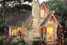cottages/houses / by Jessie Mitchell