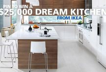 Pin to Win / Pin for a chance to win a $25,000 dream #kitchen from @IKEA Canada! Get more details: http://www.cbc.ca/stevenandchris/contests/win-a-dream-kitchen / by Steven & Chris