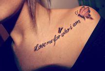 tattoo me / by Misty Dunbar