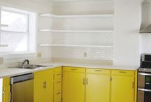 Home | Kitchen Space / by Tabitha Blue / Fresh Mommy Blog