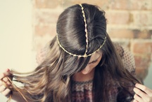 HAIR ACCESSORIES can be bought, or MADE! DIY Hair Accessories / by Christa Jean Morin / Refined Style