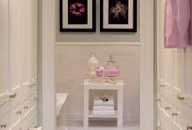 killer bathrooms/closets / by Anne Harwell McElhaney