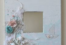 Altered Picture Frames / by Monica Hendricks