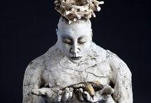 ART DOLLS/SCULPTURE / by Jeanne Stregles