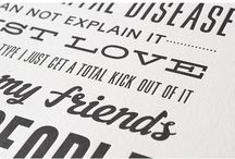 A love for typography / by Isa Ojeda