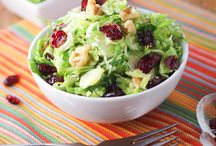 *Winter Salads / Wow us with great winter salad ideas. Leave a comment on a recent pin to be added as a pinner.  / by FreshBitesDaily.com