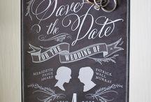 Save he date / by Jennifer Alexander