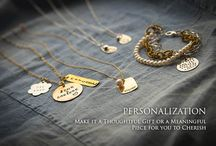 PERSONALIZATION / handstamped in the USA. / by JonCar Jewelry