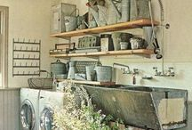 Laundry Love / Ideas for renovating our laundry room / by Julie Campbell