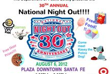 National Night Out / National Night Out is being observed in the State of New Mexico.  The AG's office is participating in Las Cruces on the Downtown Mall and in Santa Fe on the Plaza. Details on facebook.com/NMAttorneyGeneral and at nmag.gov. / by Nmago Abq