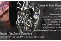 Cruise-In Auto Detailing / by Lisa Brown
