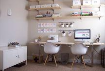 Home office / by Aubrey Hertzler