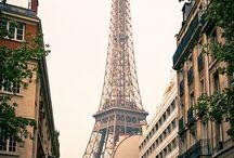 Je t'aime Paris / by Leigh Elizabeth Bryan