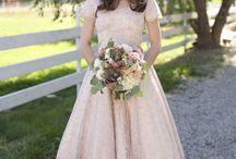 Wedding dresses / No strapless dresses.  / by Shelbot Solhaug